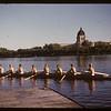 The H.E. Sampson - eight seater shell - Regina Boat Club. Regina. 07/02/1947.
