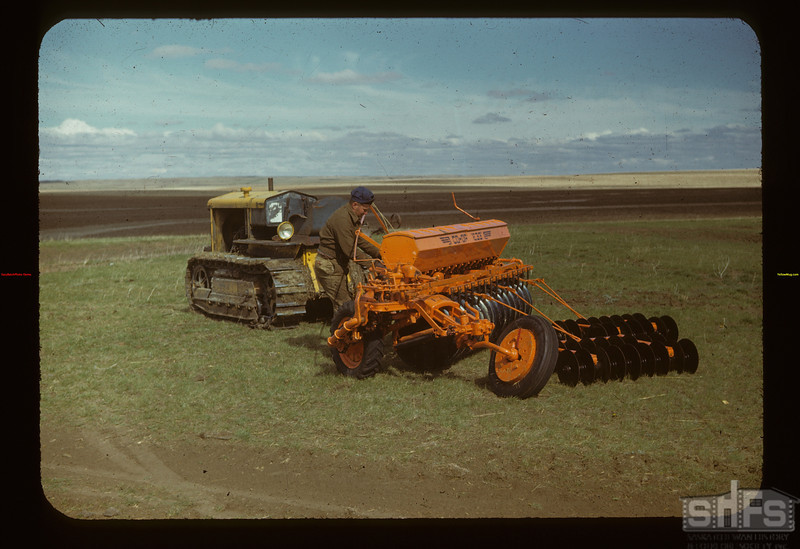 Matador Co-op Farm Co-op Tiller Combine ready to go	 Matador	 05/15/1948
