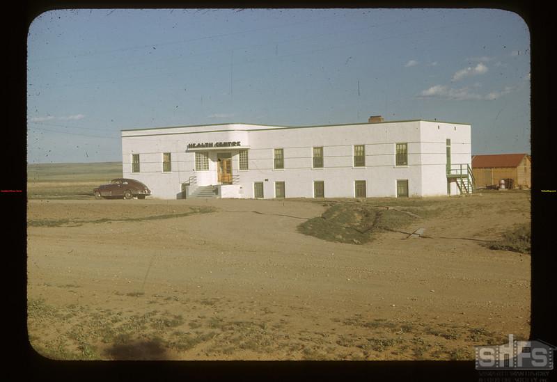 New health centre. Mankota 06/08/1948