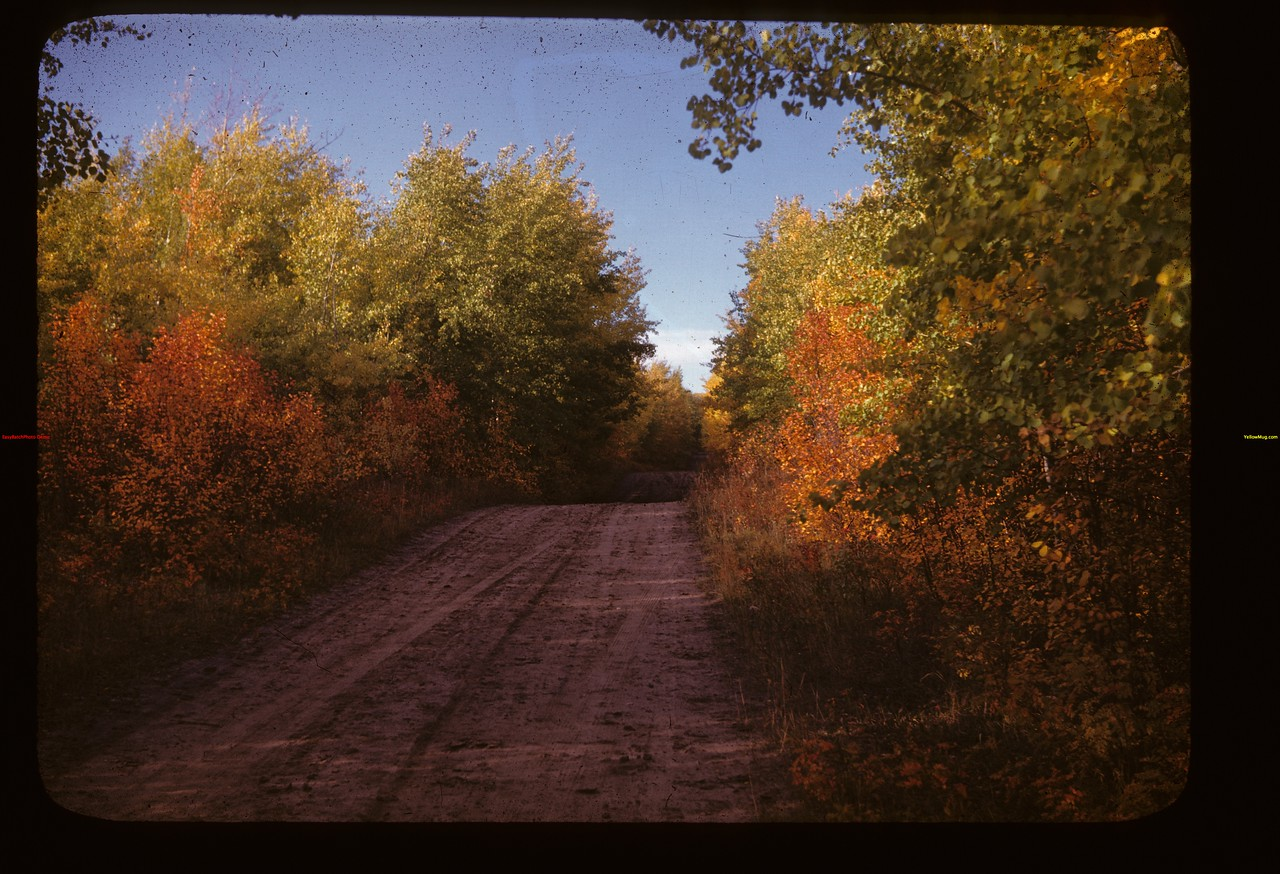 Road north into Frenchamn Butte Frenchman Butte 09/26/1947