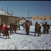 Out door Dancing - Youth Training School.  North Battleford.  02/02/1948