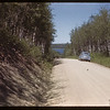 First glimpse of Waskesiu Lake.  Waskesiu.  06/18/1946