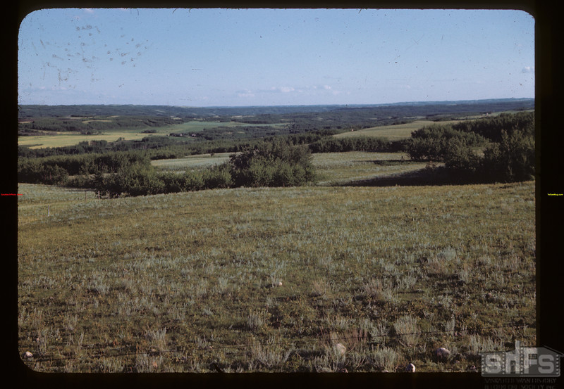 Old Road Hills from Paradise Hill sto Frenchman Butte	 Deer Creek	 08/14/1945