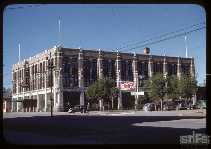 Head office Sask. Co-op Producers Victoria Ave and Albert Street. Regina 06/26/1946