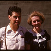Mrs. Ruth Hamilton SRM and Max Bedford SRM at PA co-op school..  Prince Albert.  07/09/1947