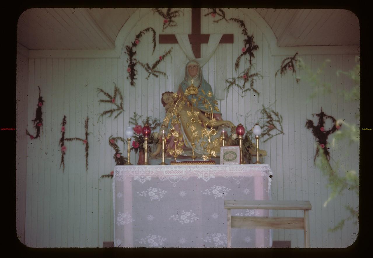 St. Laurent pilgrimage. Duck Lake 07/16/1944