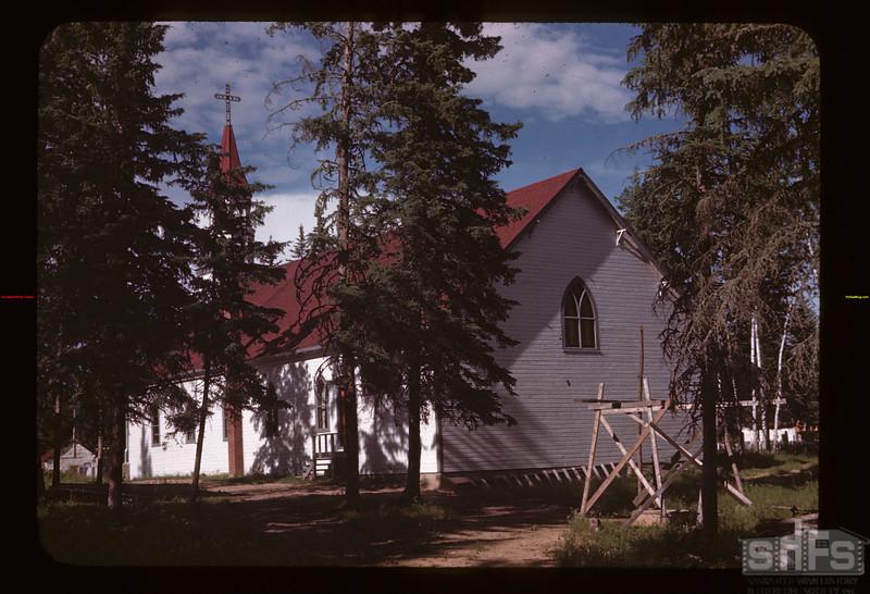 Catholic church - Green Lake school Green Lake 07/18/1945