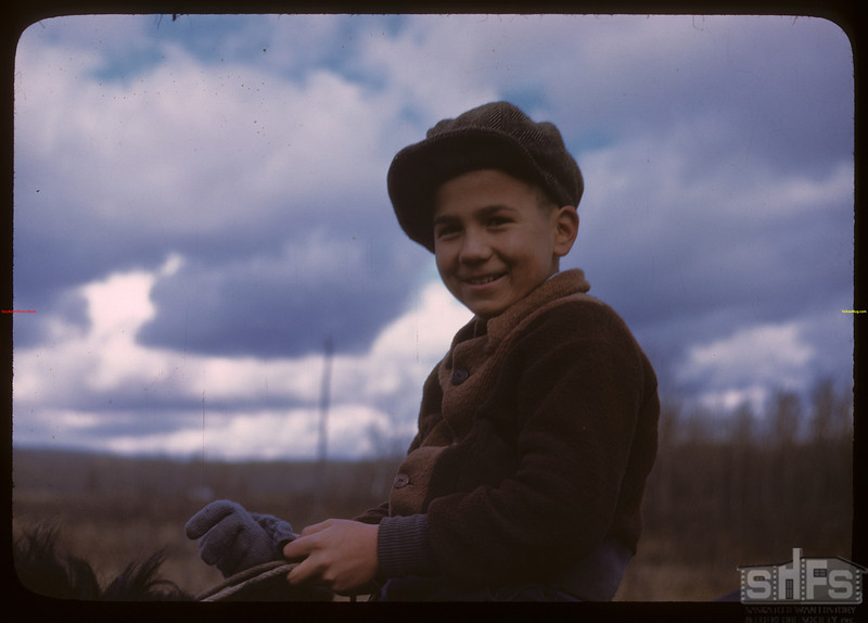 David Robertson - Onion Lake Indian Reserve.  Onion Lake.  10/09/1946