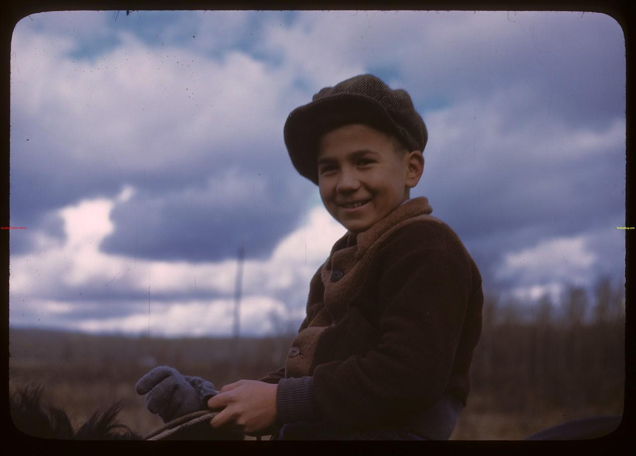 David Robertson - Onion Lake Indian Reserve.  Onion Lake.  10/09/1946