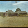 Watson's ranch on the Whitemud - Mel & Wes Bascom ranch in 1948.	 Eastend	 09/03/1948