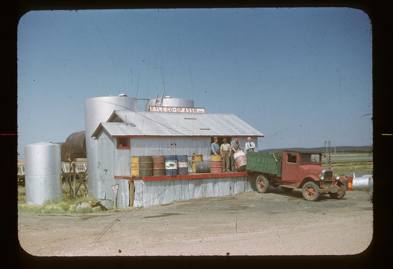 Kyle Co-op Oil business. Kyle 07/07/1948