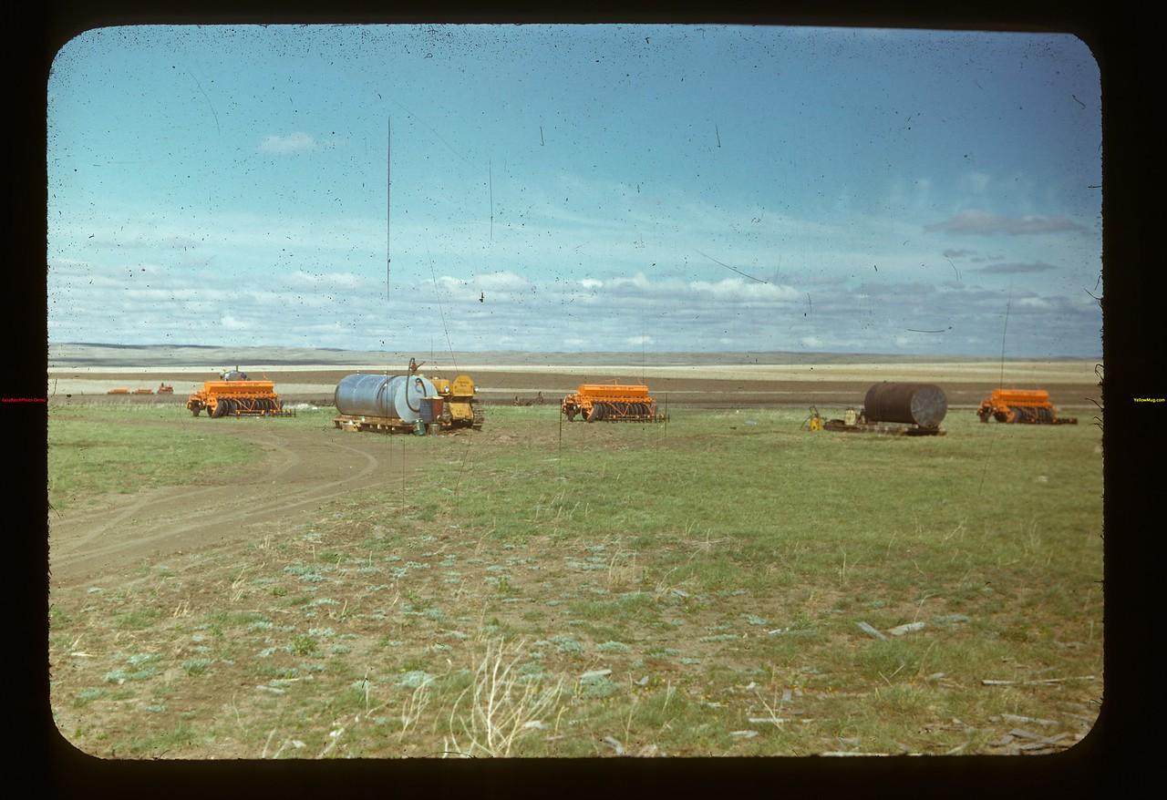 Matador Co-op Farm. 5co-op Tiller Combines Matador 05/15/1948