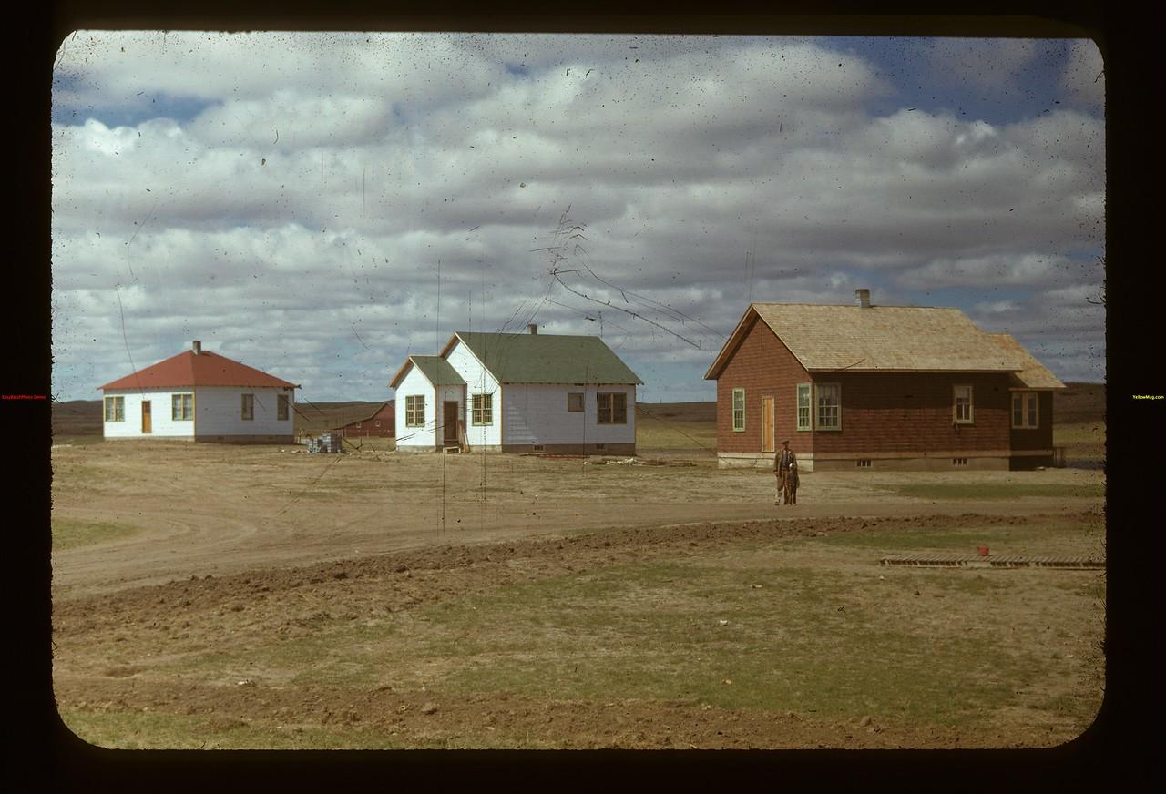 Houses 5 - 6 & 7. Matador Co-op Farm Matador 05/15/1948