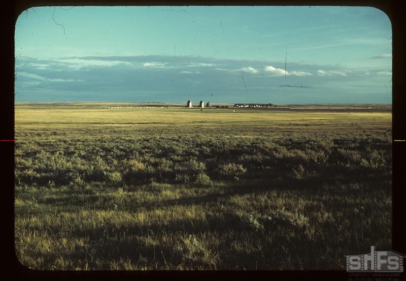 Prairie village at sunset Consul 05/31/1949