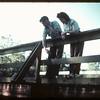Fishing - Waskesiu River bridge.  Prince Albert.  06/18/1946