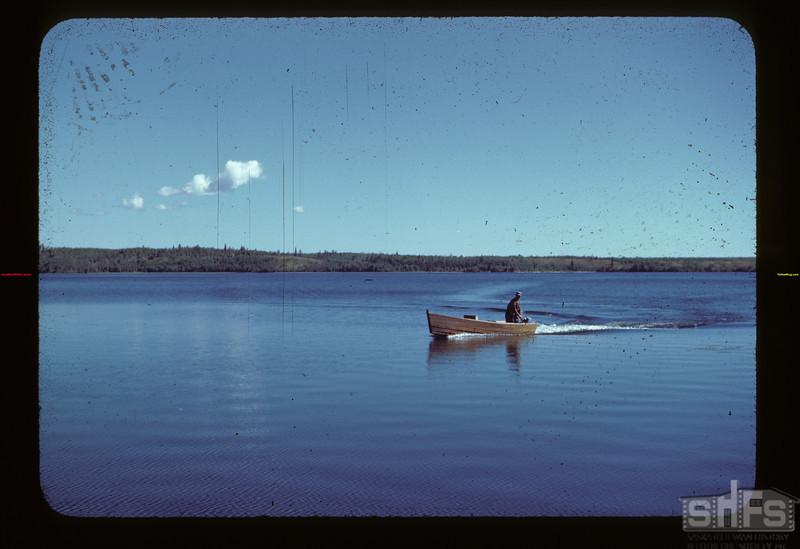 Returning from fishing Loon Lake 08/22/1944