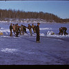 Clearing Ice For Skating Fresno & Pull-Board Y-T-S. Kenosse Lake 11/26/1946