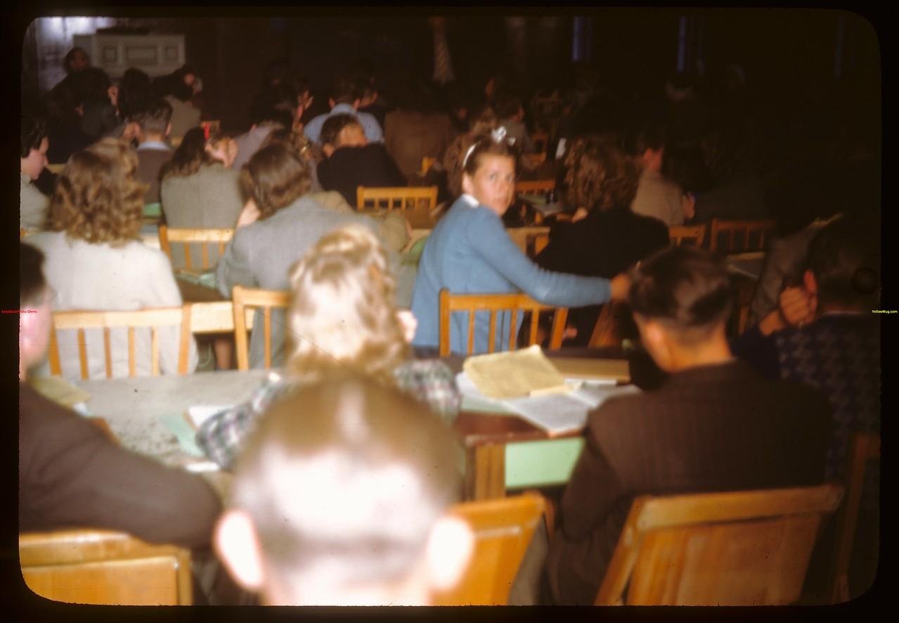 PA co-op school in session..  Prince Albert.  07/12/1946