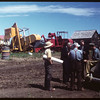 District 3 Study tour - Mount Hope Co-op Farm - Secretary - Armand Keall Machinery.  North Battleford.  07/21/1949