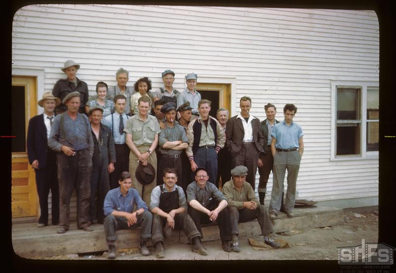 Filleting Plant mplotees La Ronge 06/21/1946