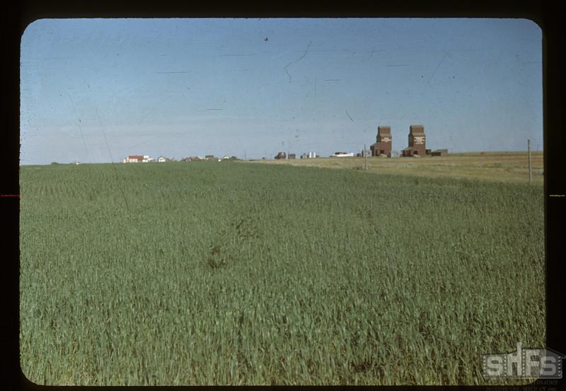 Claydon from NW. Claydon 07/02/1948
