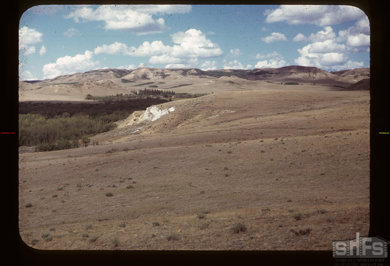 Jack Howard's Ranch in the distance	 Eastend	 06/27/1949