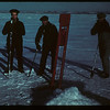 Winter fishing - Jackfish Lake - with jigger	 Meota	 01/06/1942