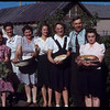 The nice roast leads - Committee Convention [ladies bringing out supper] Mildred 06/28/1944