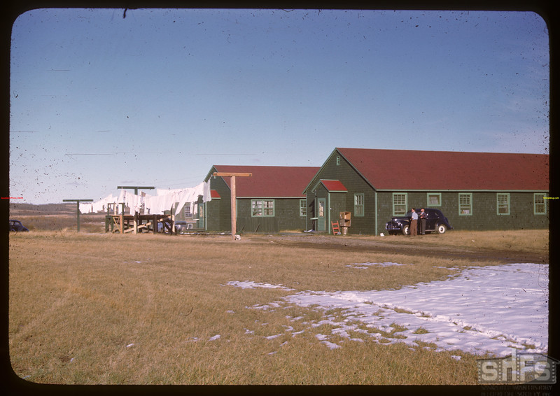 North Battleford airport - NW residential quarters.  North Battleford.  10/06/1946