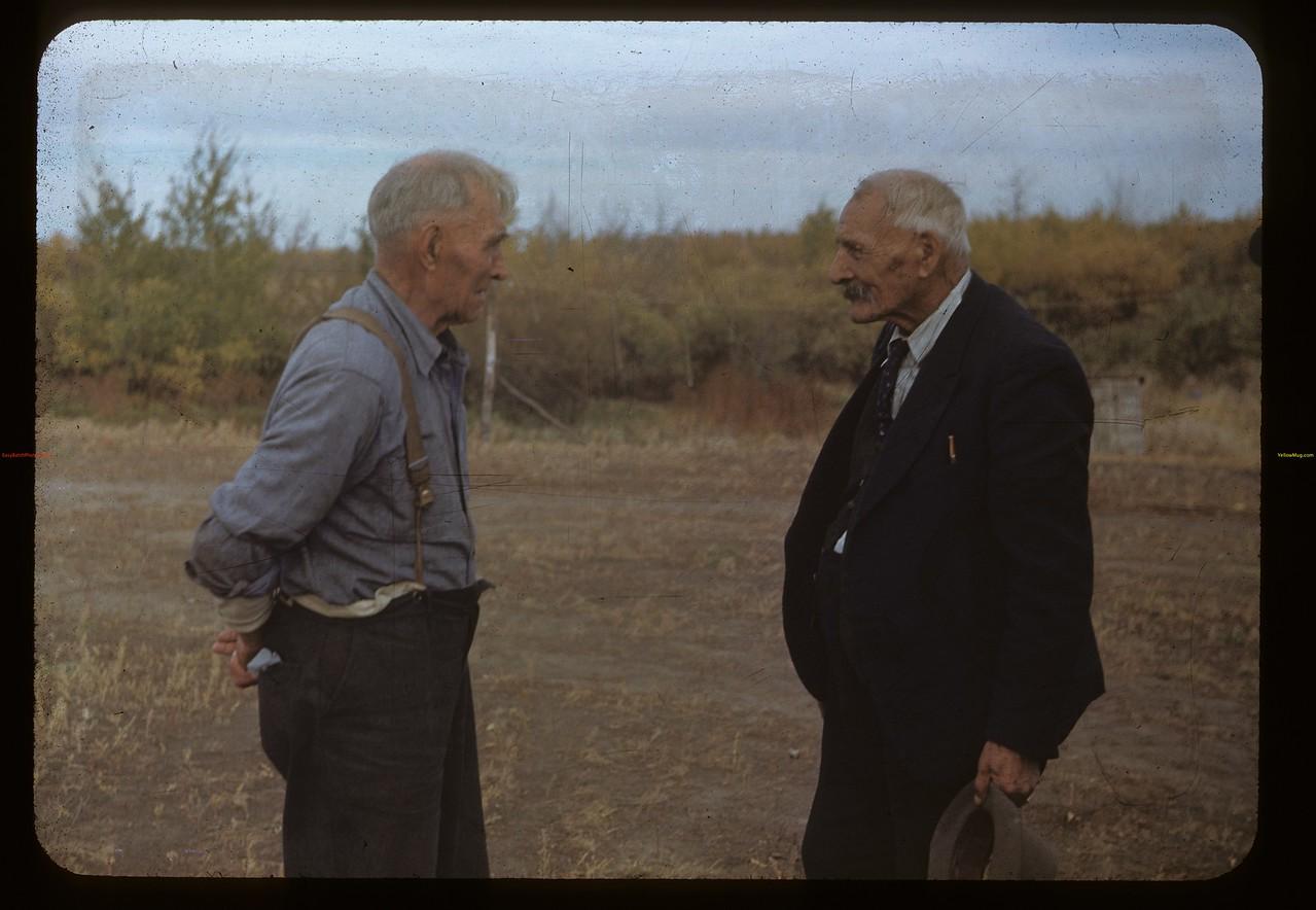 Does John Caron remember Charlie Trottier? Batoche 10/04/1948