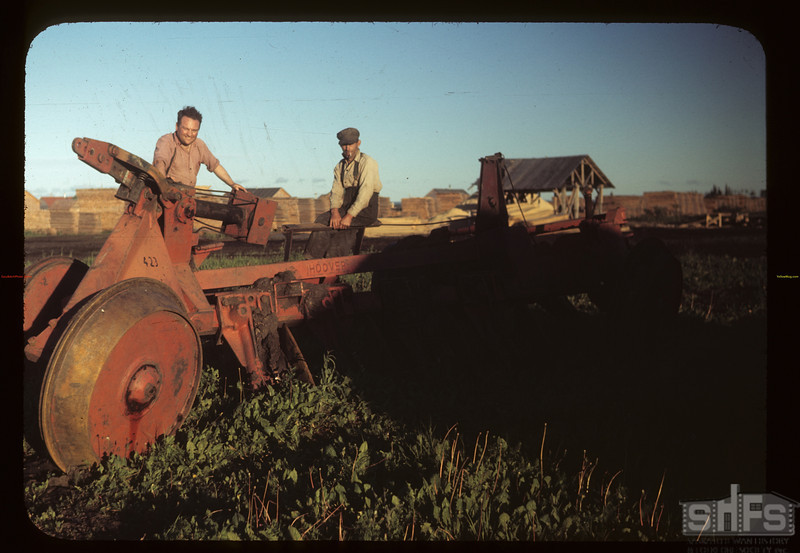 Carrot River co-op farm bush breaker. Carrot River 07/18/1949