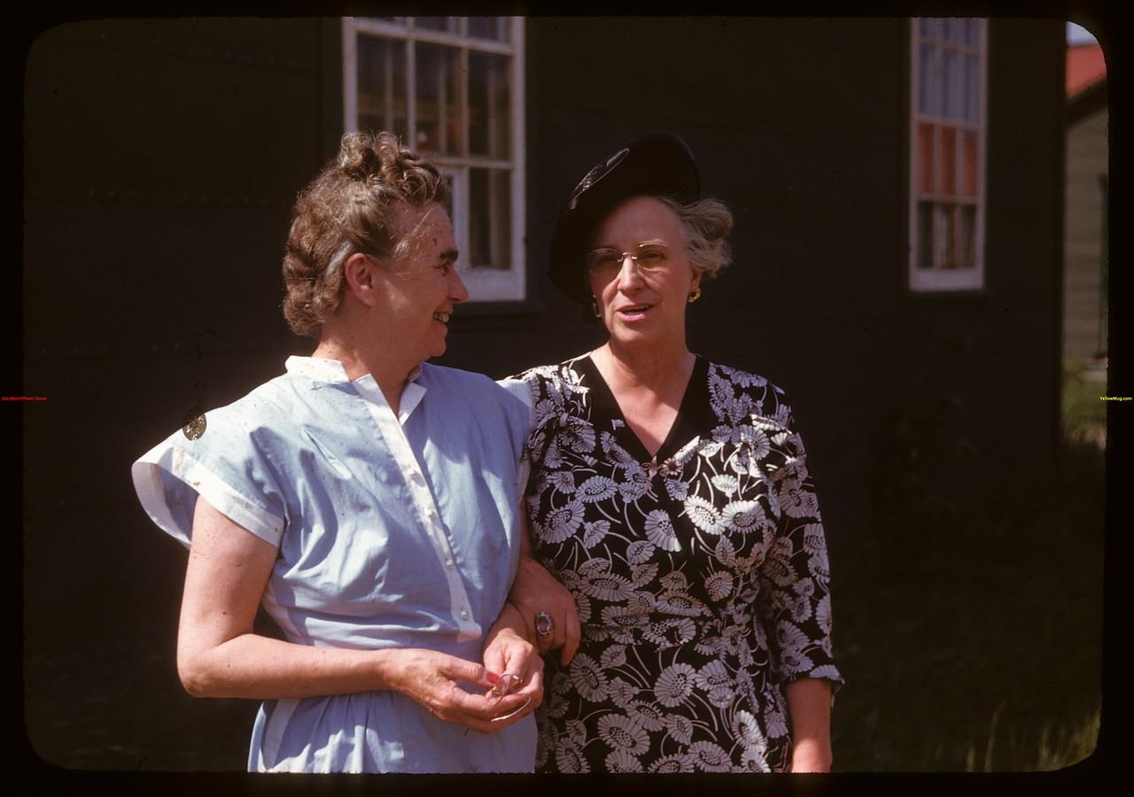 President & Vice President Women's Guild at PA Co-op school. Mrs. Henry Lawrence  President - Lashburn; Mrs. Fred Mollard Vice President - PA..  Prince Albert.  07/09/1947