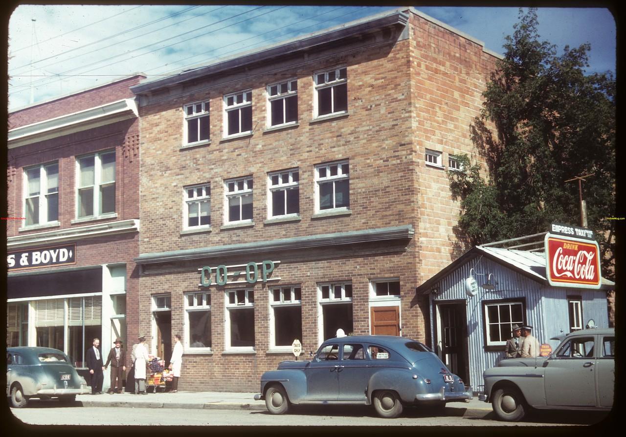 North Battleford co-op store..  North Battleford.  07/21/1949