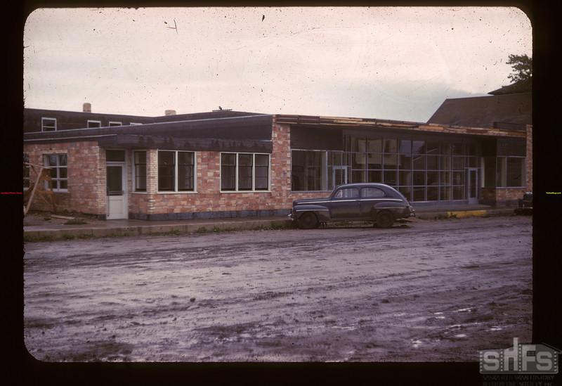 Under construction New Lashburn Co-op store Lashburn 09/20/1947