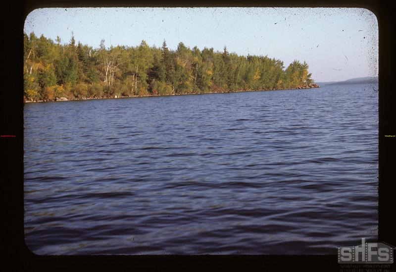 Lower Makwa. just S. of Loon River Dam Loon Lake 09/09/1944