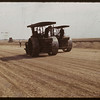 Steam rollers - beginning North Battleford airport.  09/02/1940