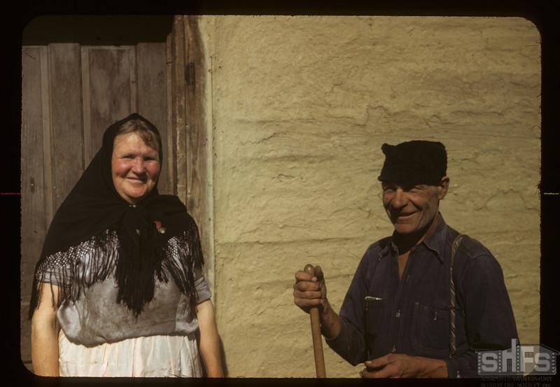 Mr & Mrs George Posnikoff. Arran 09/15/1949
