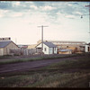 New Livestock Poll market building..  North Battleford.  07/27/1949