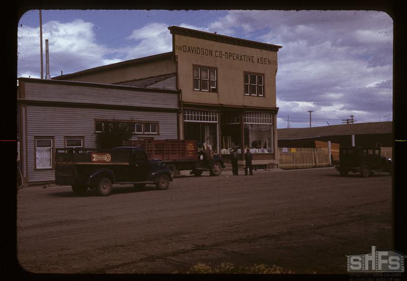 Davidson Co-op store. Davidson. 07/09/1941