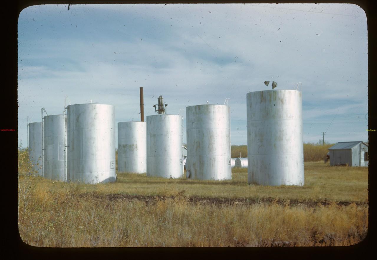 Melfort Co-op oil storage Melfort 09/26/1946