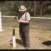 Rain Gauge - J. B. Frame.  Waskesiu.  06/18/1946
