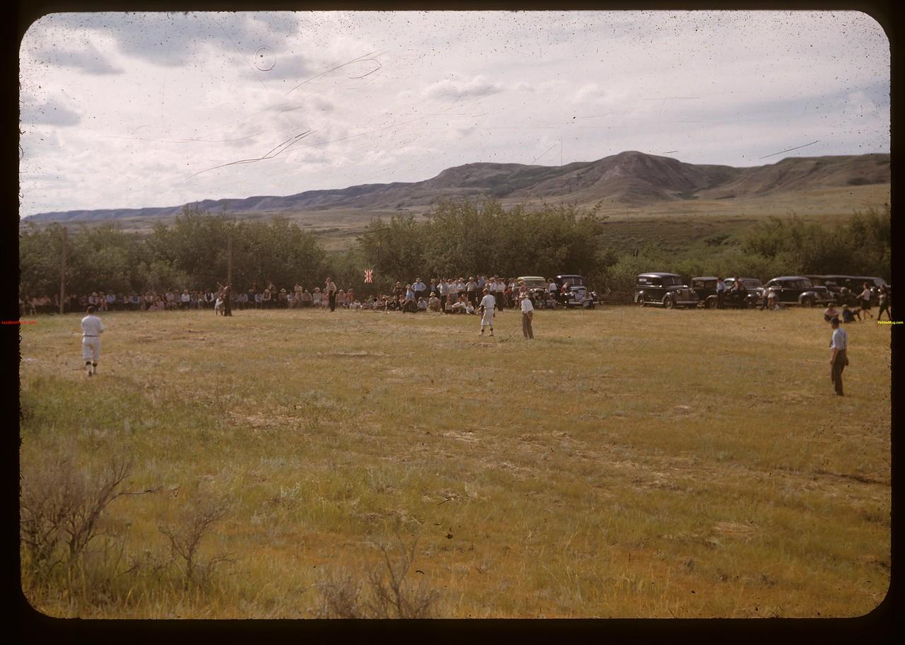 Baseball. Knolly's Siding Picnic Knolly 07/18/1948