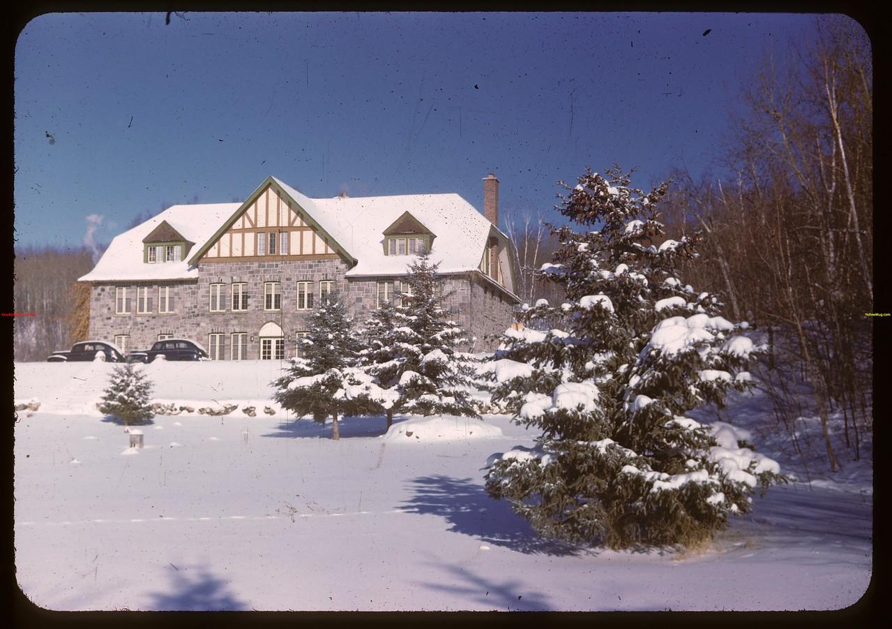 Kenosse Chalet from S.W.  Y-T-S. Kenosse Lake 11/26/1946
