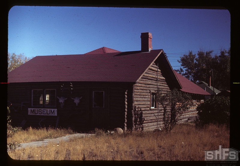Maple Creek museum - picture taken the day before caretaker Harrison's funreal.	 Maple Creek	 09/27/1949