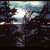 Sunset Loon River. Lower Makwa	 Loon Lake	 09/23/1944