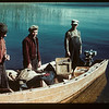 Day's fishing finished. W. C. camp. Going home Loon Lake 08/22/1944
