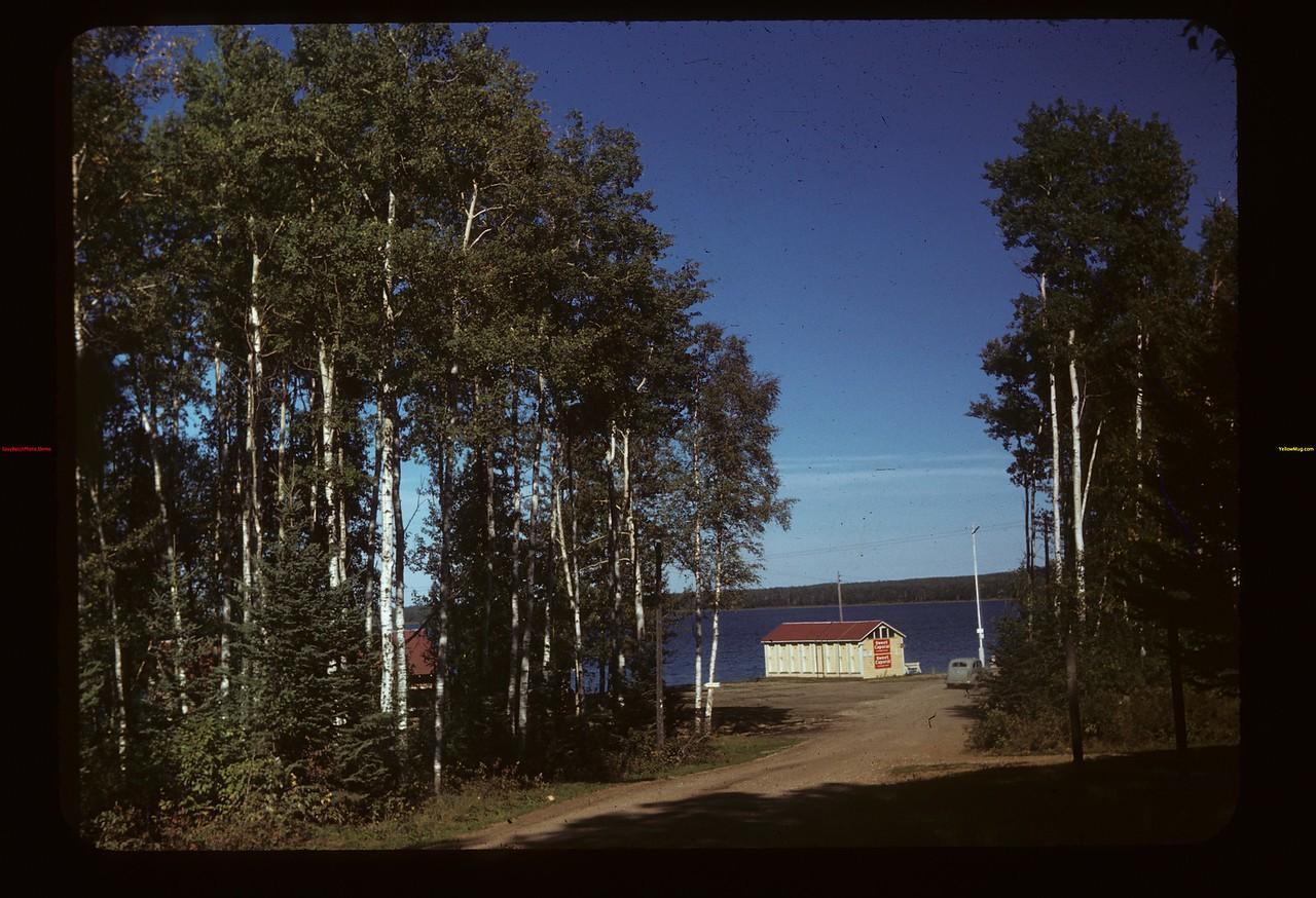 Ministic Lodge. Madge Lake Kamsack 09/14/1949