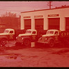 Sherwood Co-op delivery trucks.  Regina.  10/09/1947