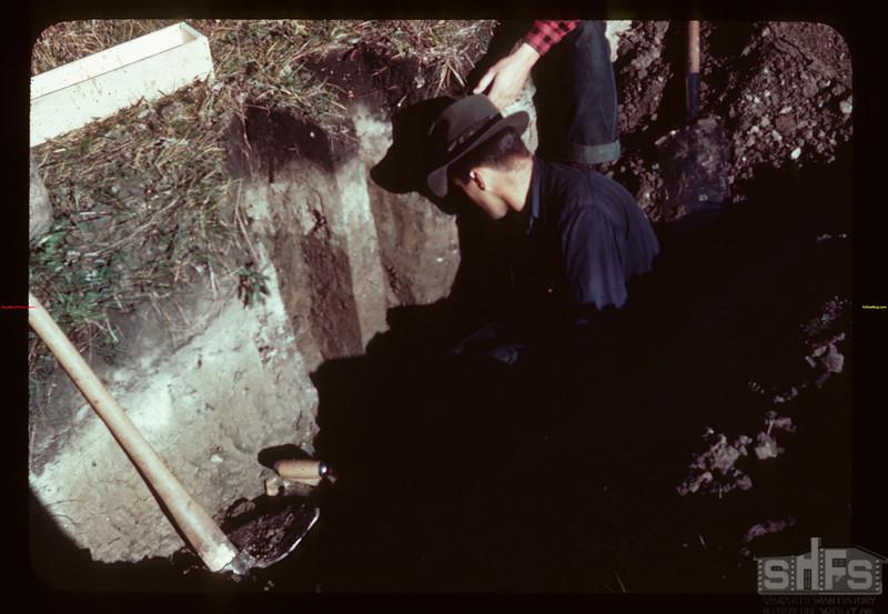 Cutting profile Loon River 09/23/1944