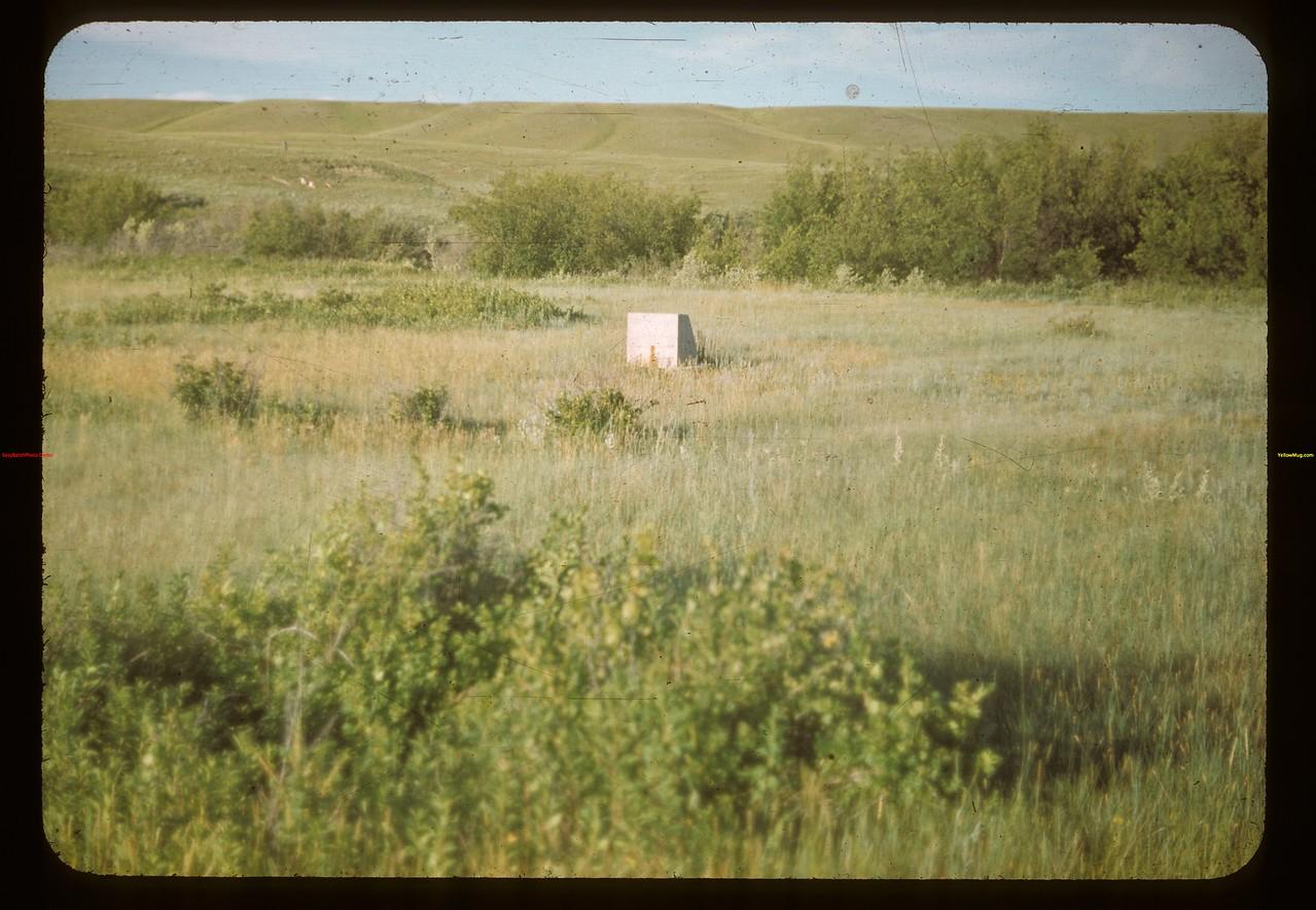Site of Farwell Store north of Batle Creek Maple Creek 07/04/1948